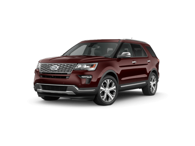 2019 Ford Explorer Platinum 4WD SUV